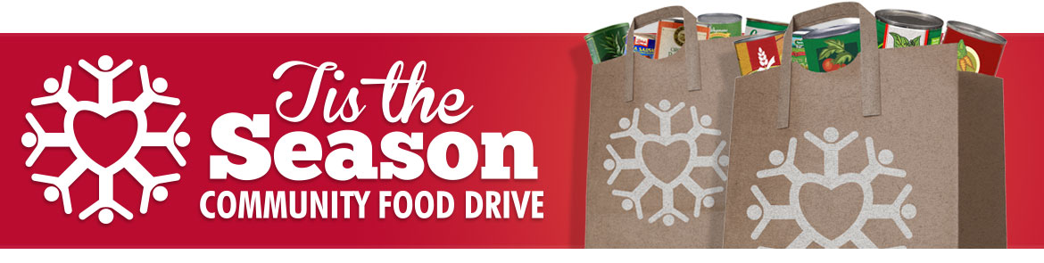 Tis The Season Community Food Drive